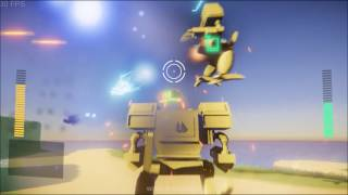 Project Wolves Reveal and Gameplay (MechAssault Fan Game)