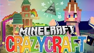 Illuminati Fail Pranks | Ep 18 | Minecraft Crazy Craft 3.0