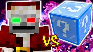PAPAI NOEL DO MAL VS. LUCKY BLOCK NATAL (NOVO) (MINECRAFT LUCKY BLOCK CHALLENGE EVIL SANTA)