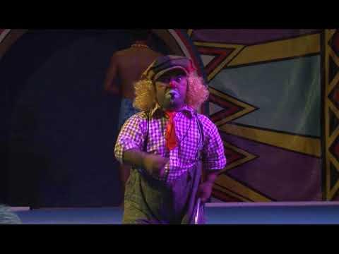 Toetu the Clown at the Magic Circus of Samoa