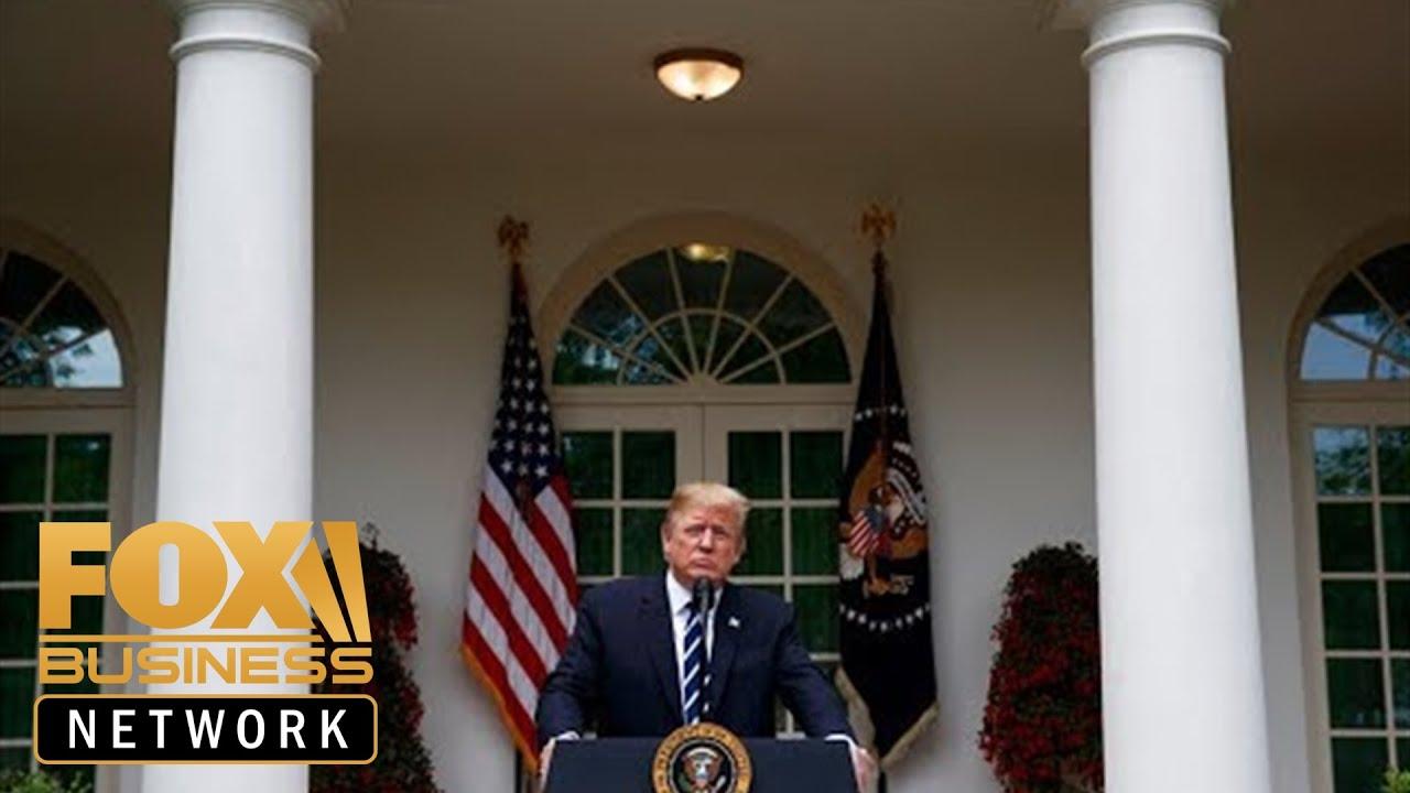FOX Business - Live: Trump announces $16B in aid for farmers amid trade war 5/23/2019