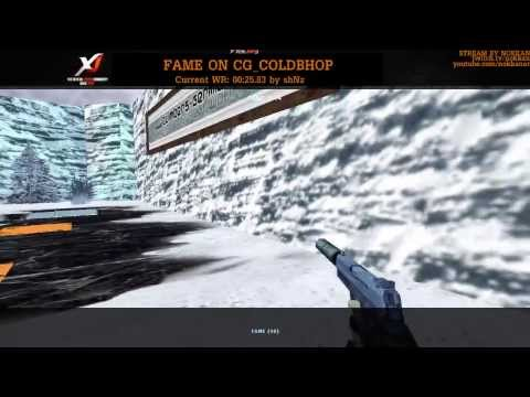 FAME Trying To Beat cg_coldbhop World Record / Part 2