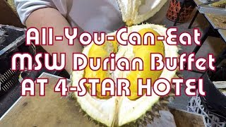 Koopify Eatlog #29 🍴 All-You-Can-Eat Top Grade MSW Durian Buffet at Element, Amara Hotel Singapore