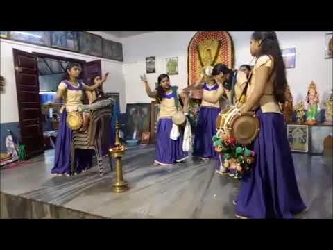 Kerala Ladies Dance in Chenda Melam