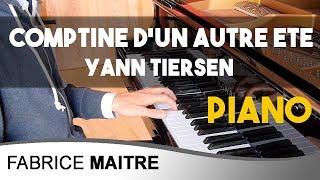 Yann Tiersen -  Comptine d'un autre été -  (Amélie Poulain) - piano cover