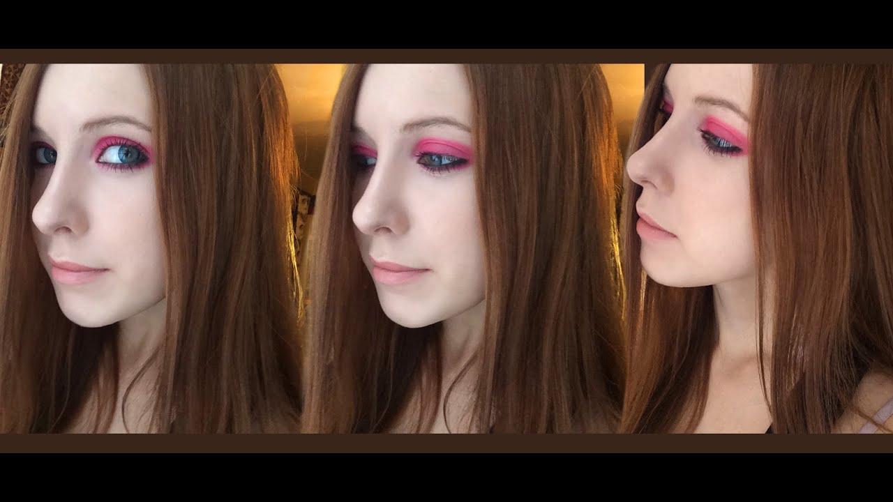 Avril Lavigne Tutorial Makeup Pink Eyes 1080 Youtube