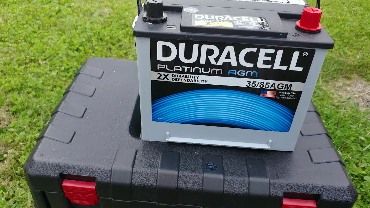 Duracell Car Battery Review >> Duracell Platinum Agm Car Battery