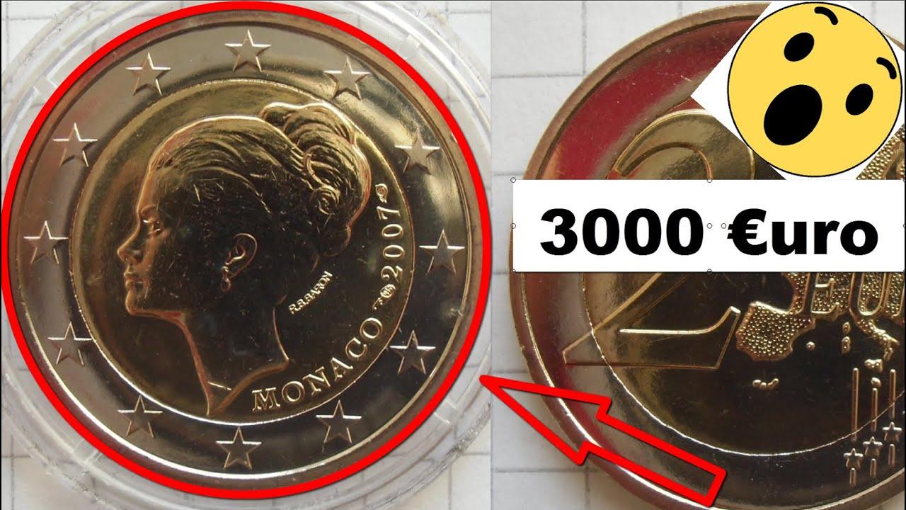 2 Euro Monaco Grace Kelly 2007 Die Wertvollste 2 Euro Münze Youtube
