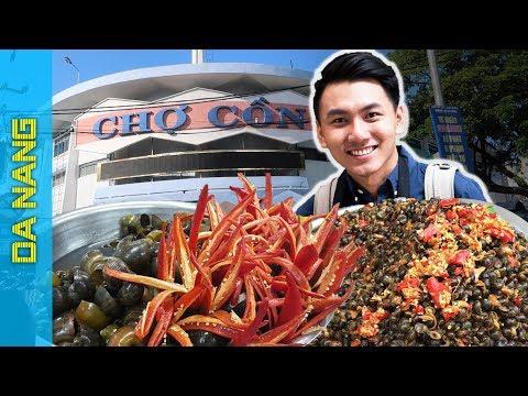 Chợ Cồn Đà Nẵng - ĂN NO NÊ |Du lịch Đà Nẵng #1