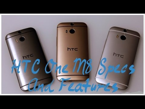 Official HTC One M8 Specs And First look