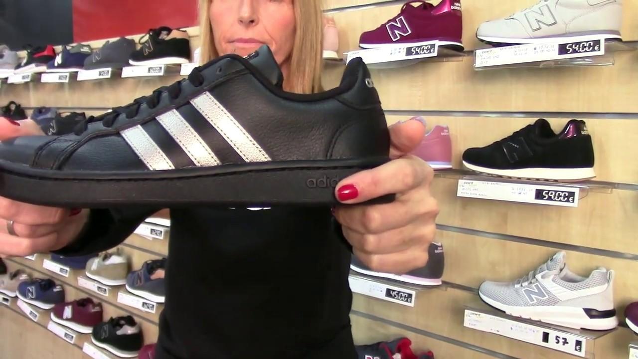 apagado Perezoso Registro  Novedades Adidas Mujer Blancas - Negras - Tienda Productos Adidas Valencia  2019 -2020 - YouTube