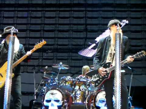 ZZ Top - Clearfield PA - Opening- Got Me under Pressure