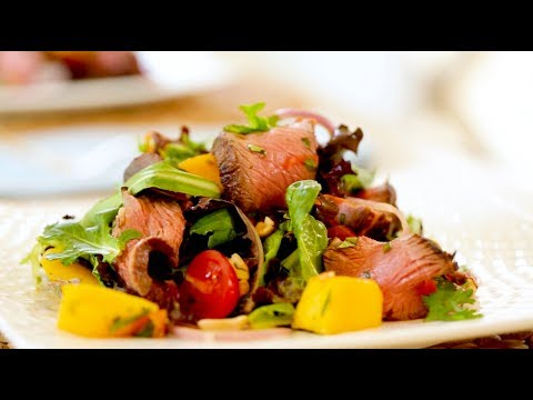 Beth's Thai Beef Salad Recipe | ENTERTAINING WITH BETH