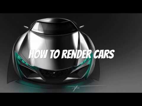 HOW 2 CARS - 004 - Exotic Car Concept Pt. 7