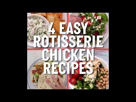 4 Tasty Ways With Rotisserie Chicken   Cooking Light