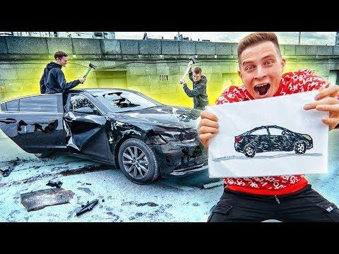 я УНИЧТОЖУ ВСЕ, что ТЫ НАРИСУЕШЬ! ЧЕЛЛЕНДЖ! Бедная моя машина... [Герасев]