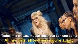 Meghan Trainor I M A Lady Lyrics English Español Subtitulado
