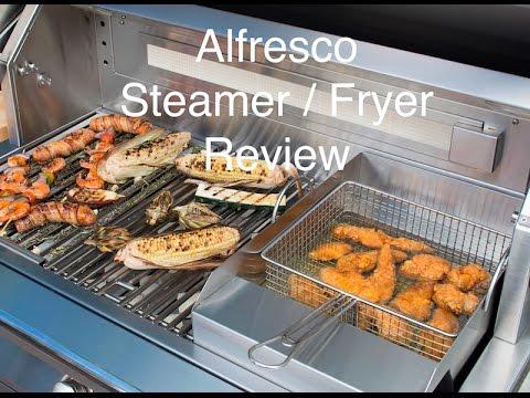 Alfresco Grill Review: Rocking the Steamer Fryer! - Curtos.com