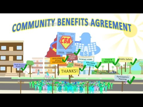 Preventing Displacement With A Community Benefits Agreement Youtube