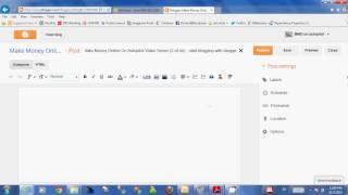 (2 nn) Otopilot Video Serisi Para Çevrimiçi yapmak - blogger ile blog