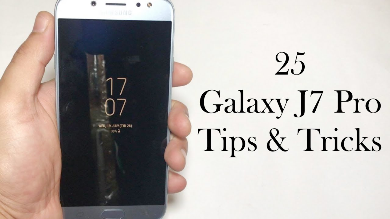 25+ Samsung Galaxy J7 Pro 2017 Tips & Tricks (4k)