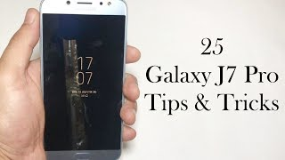 25+ Samsung Galaxy J7 Pro 2017 Tips & Tricks (4k)
