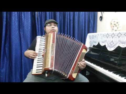 AMAR MUKTI ALOY ALOY instrumental on ACCORDION by Rajdeep Ganguly