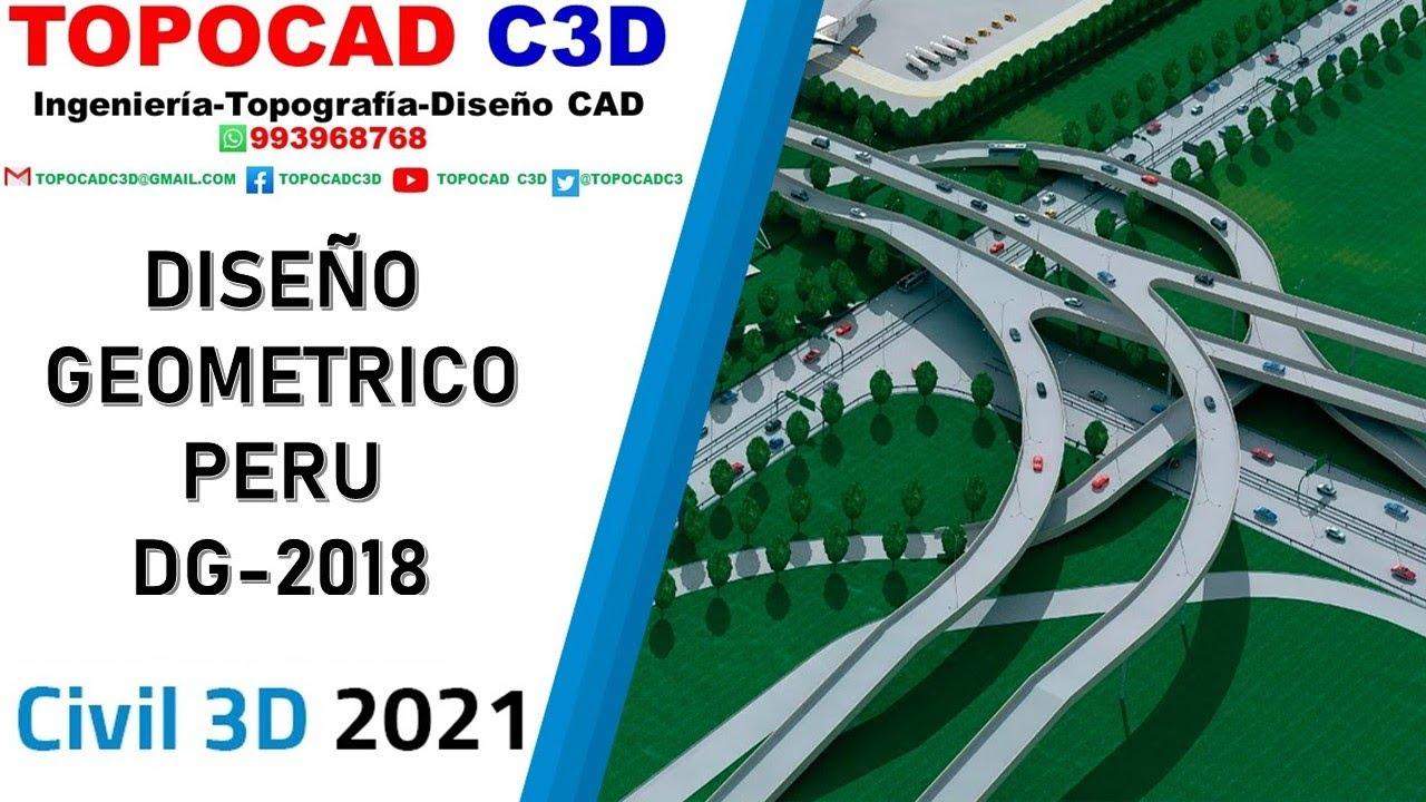 CIVIL 3D 2017: NORMAS PERUANAS DG-2014 [PLANTILLA + XML] - YouTube