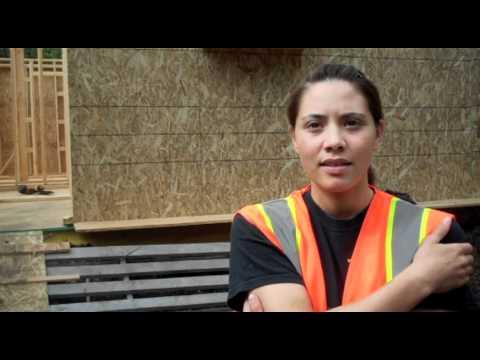 Student carpenter Takpaan on building energy efficient prototype homes in Alaska