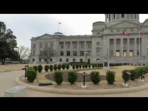 Little Rock Capitol building in Arkansas