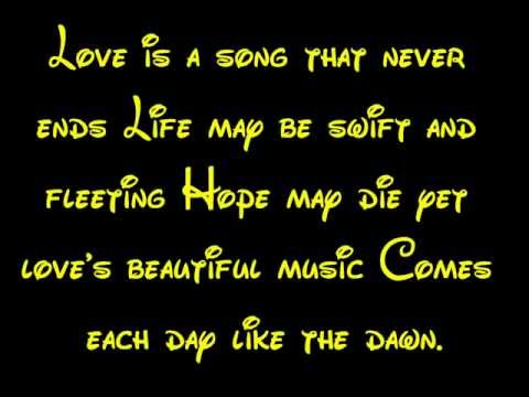 Love Is A Song - Bambi Lyrics HD