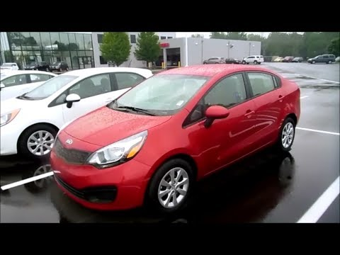 2014/2015 Kia Rio LX 6 spd Start Up and Full Tour - YouTube