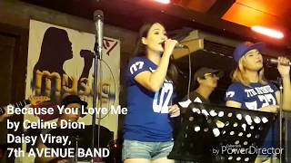 Video BECAUSE YOU LOVE ME COVER. Celine Dion. Covered by Daisy Viray download MP3, 3GP, MP4, WEBM, AVI, FLV Juli 2018