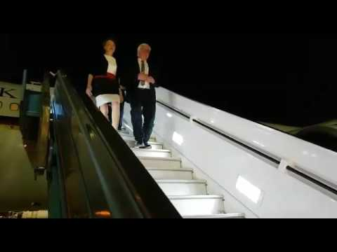 President of Germany visiting Israel