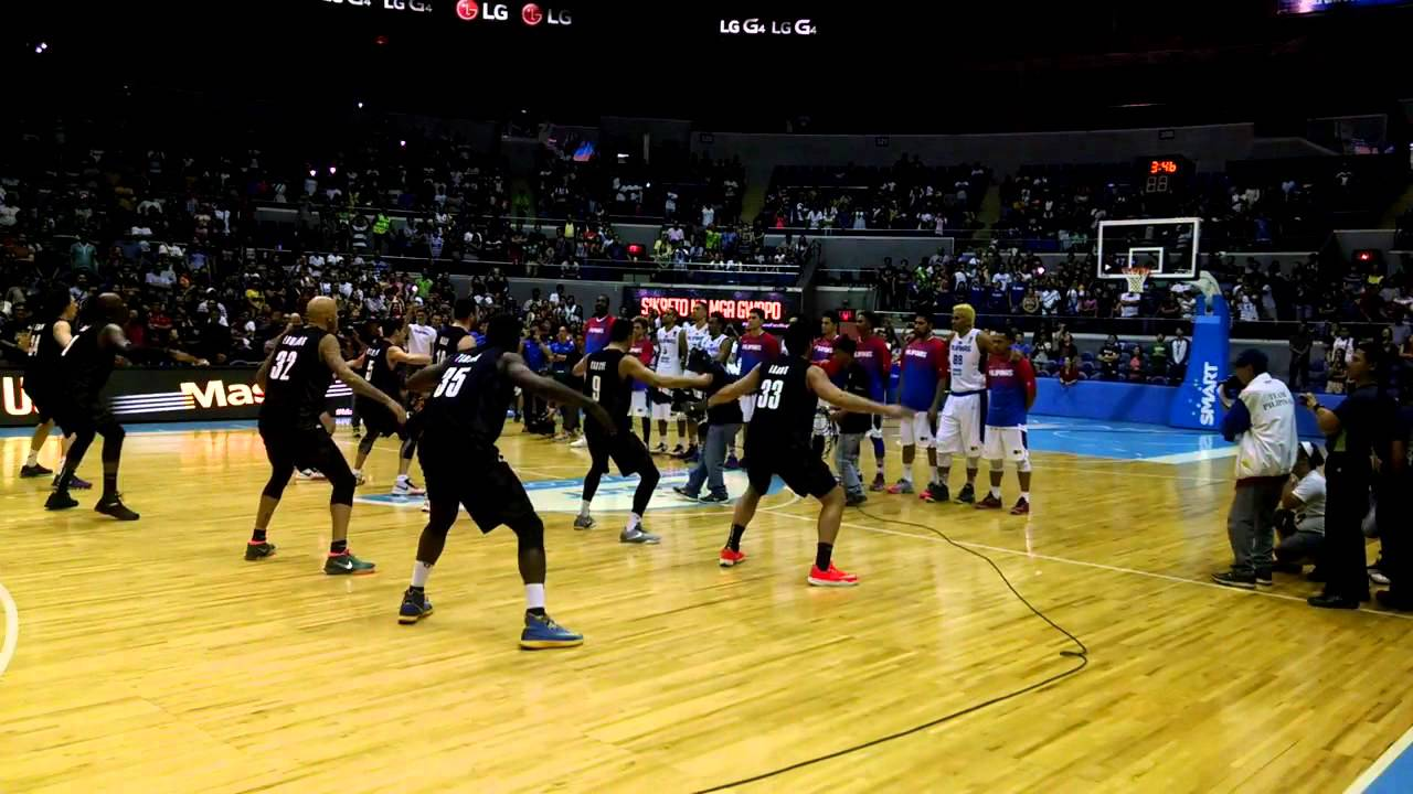 Wellington Saints perform Haka dance in the Philippines