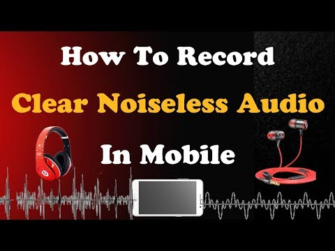 How to record audio without noise in mobile | Tamil | Fayas Entertainment