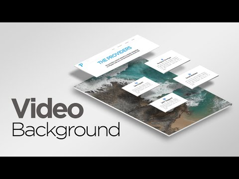 How To Make A Website With Background Video In HTML And CSS | How To Add Video Background In Website