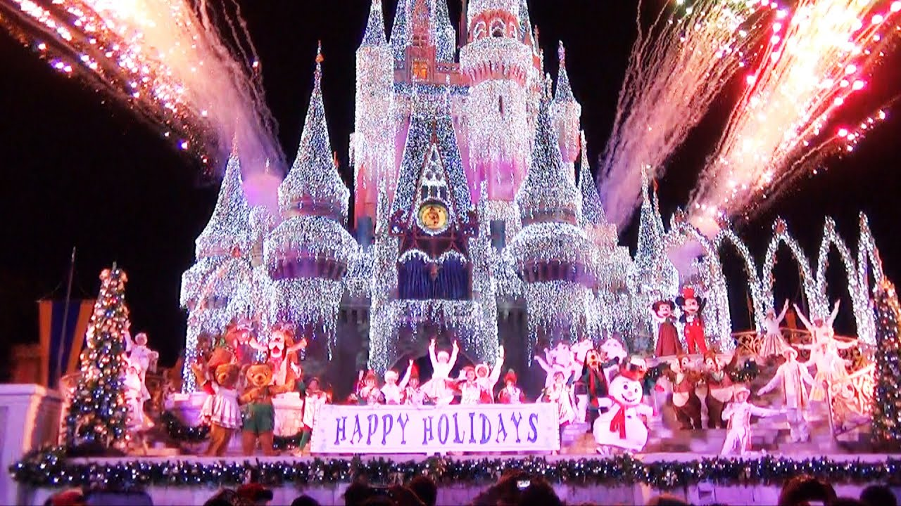 celebrate the season show at mickeys very merry christmas party 2014 jolly holidays youtube - Mickeys Very Merry Christmas