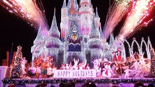 Celebrate The Season Show at Mickey