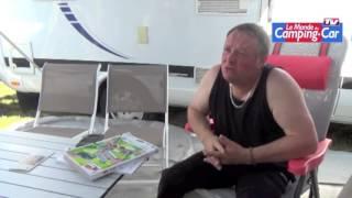 Claude, ancien caravanier, préfère le camping-car