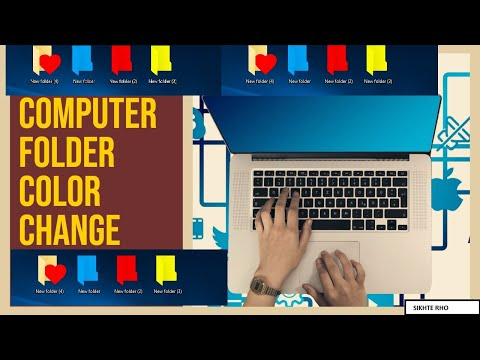 folder color change on window 7,8,10   how to change color of folder on windows 7,8,10