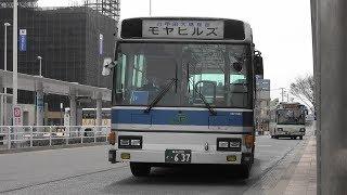 2018 路線バス JRバス 横内線 青森→公立大→モヤヒルズ 4K版