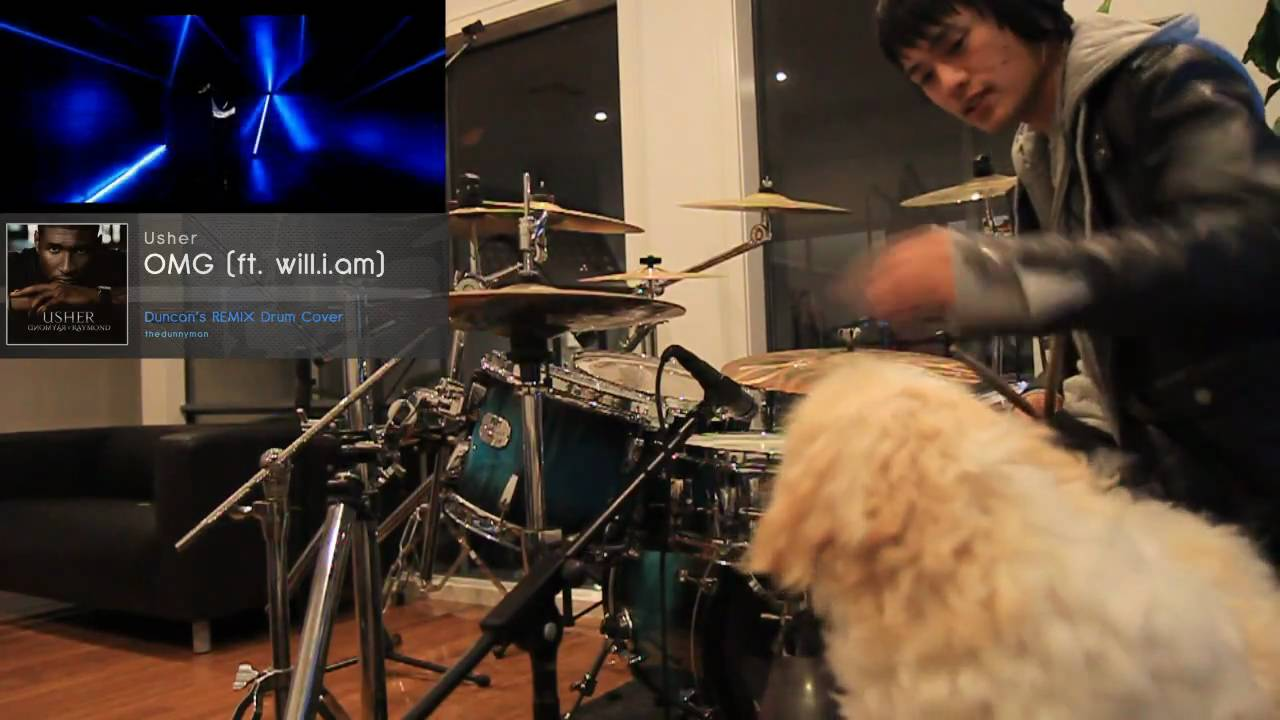 Usher Omg Ft Will I Am Duncans Remix Drum Cover Hd