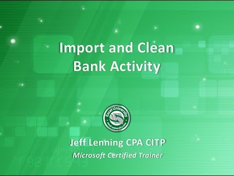 Import and Clean Bank Activity