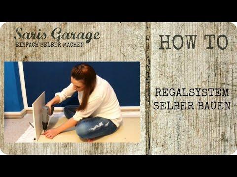 regalsystem regal selber bauen upcycling diy m bel how to by saris garage. Black Bedroom Furniture Sets. Home Design Ideas