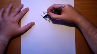 Como dibujar una serpiente paso a paso | How to draw a snake