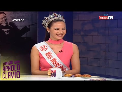 Tonight with Arnold Clavio: Catriona Gray answers pageant questions