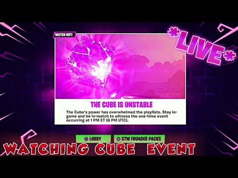 fortnite cube event 6pm uk time cube exploding countdown ripkevin - what time is fortnite event today uk