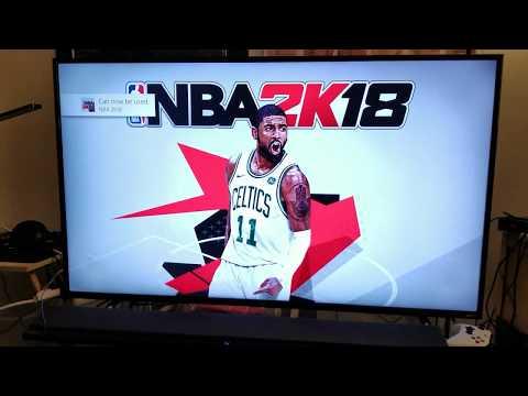 NBA 2K18 PS4 Pro 4K HDR Custom Calibration for both TCL & Samsung TV