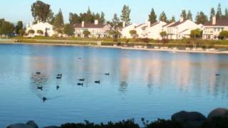A serene evening at Woodbridge North Lake, Irvine, California - June 6, 2011